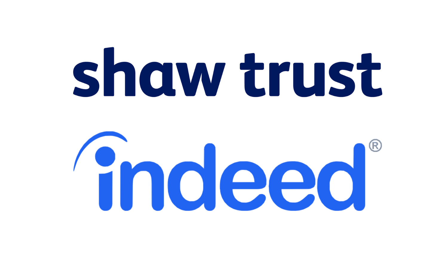 Shaw Trust and Indeed logo