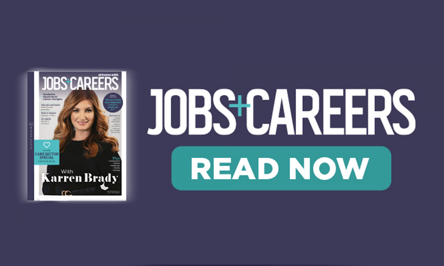 Jobs and careers mag cover