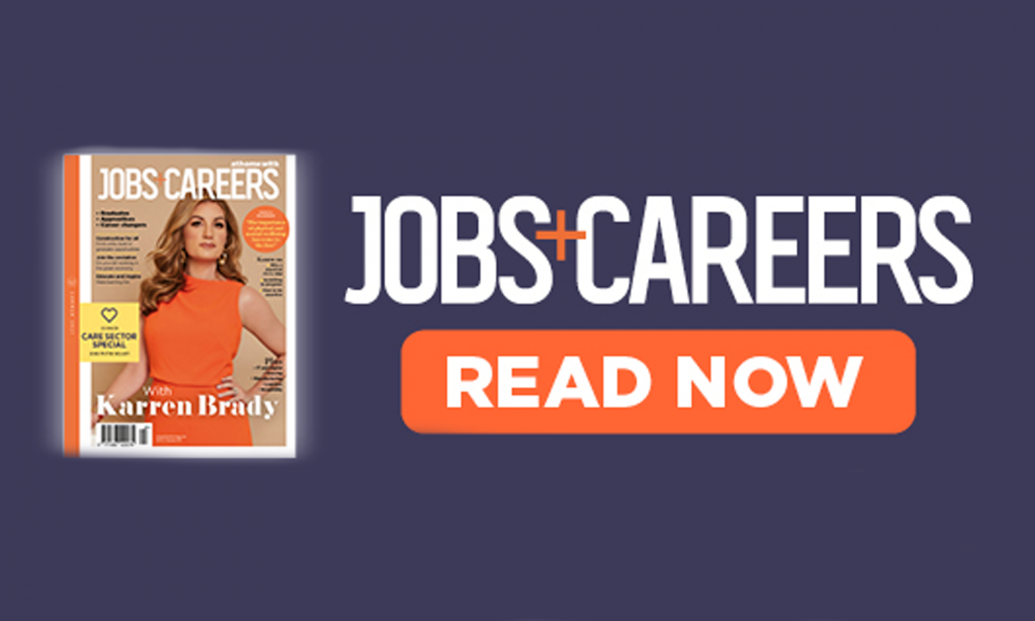 Jobs and Careers magazine cover