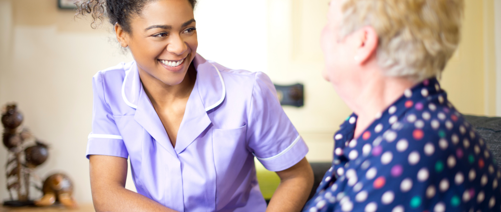Photo of a care worker